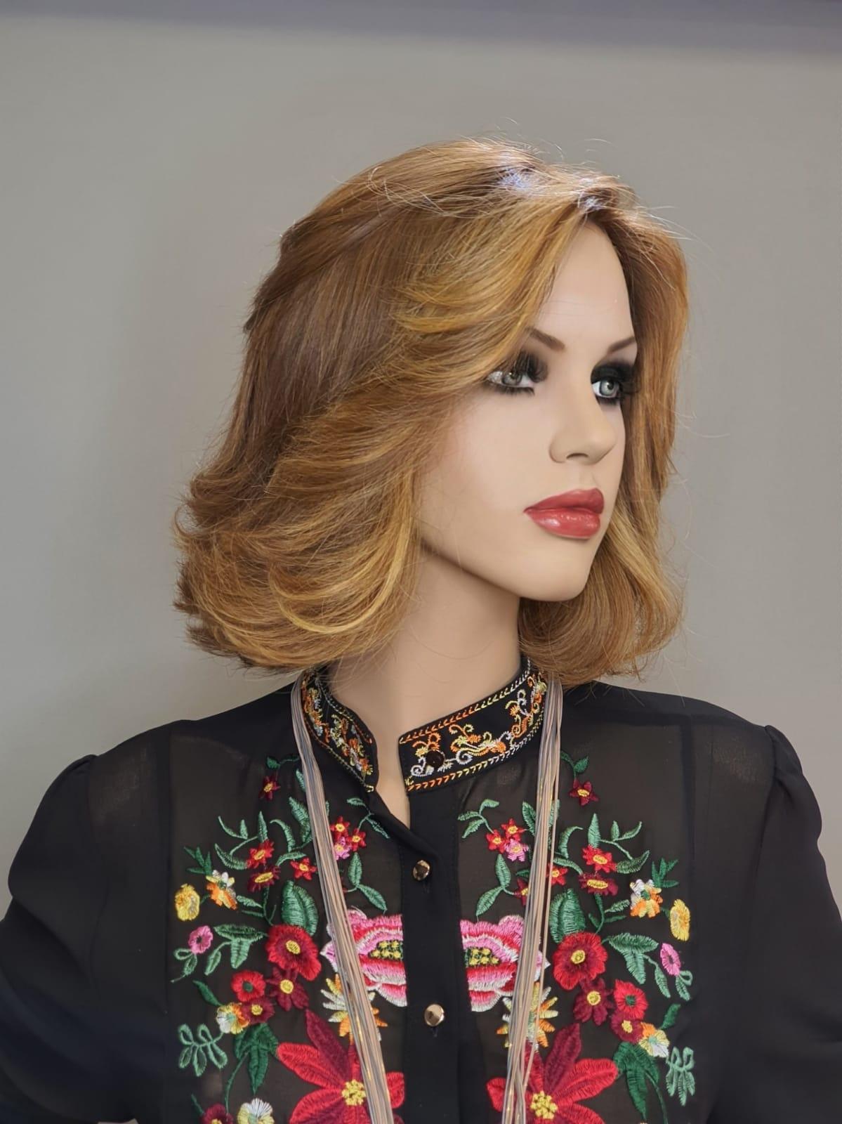 פאות טבעיות Custom made wigs מאת רבקה זהבי